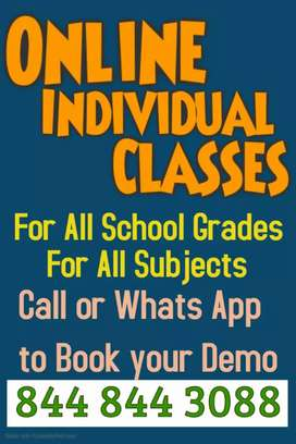 Online individual classes for Maths CBSE and ICSE board students