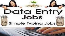 Job Opening  For Data Entry / Back Office - Limited Vacancy Available