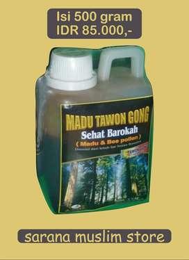 Madu Hutan Riau   Madu Tawon Gong Sehat Barokah Kemasan 500 gram