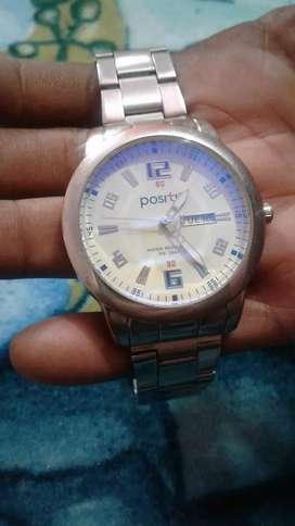 Positif quartz watch