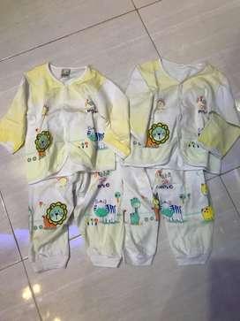 Piyama anak set size 1-2thn (2psg)