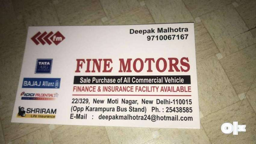 Deals in all types commercial vehicles 0