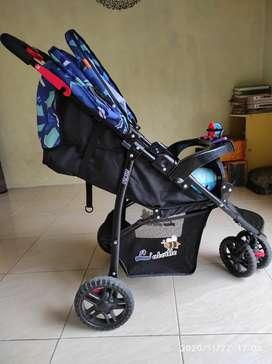 Dijual stroller merk labelle masih mulus