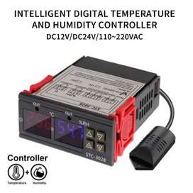 STC-3028 10A AC / 12v Two Relay Output Digital Temperature & Humidity