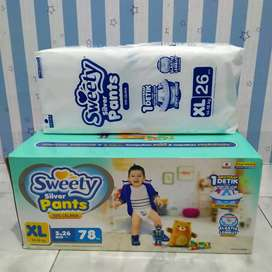Diapers Sweety Silver Pants XL26
