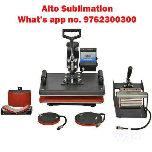 mobile back cover and t shirt printing sublimation machine 0