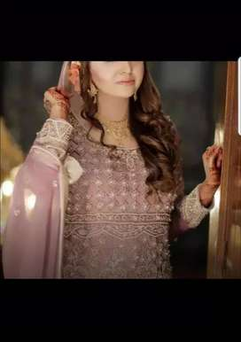 Walima Dress Gown Tail for Bridal