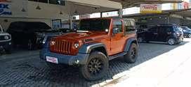 Jeep Rubicon 3.8At 2Door  2011 Orange Km 20rb Antik Vr20 Full Original