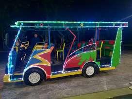 kereta panggung becak cinta kereta mini bus odong