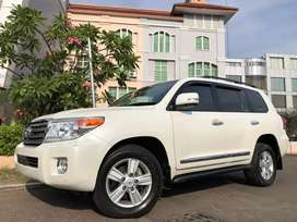 Land Cruiser 4.5 Diesel ATPM 2012 Facelift White Km30rb Antik JBL 4Cam