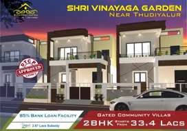 Individual gated community villas