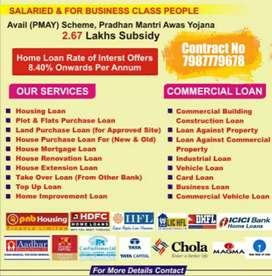 Home Loan Business Loan C.C,O.D. Limit ,Mortgage Loan ,Personal Loan