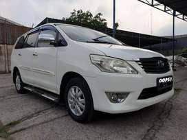 Toyota Kijang Innova G 2.0 Bensin AT 2013 bisa dp Rendah