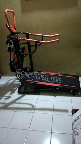 Manual treadmill 6fungsi