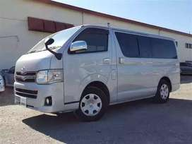 Toyota Hiace: Discount Offer 7.5%
