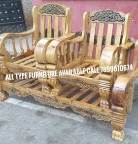 Wooden sofa set factory price good quality all type furniture availabl