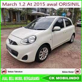 (Dp13jt) Nissan March 1.2 At 2015 awal ORISINIL Kredit Murah