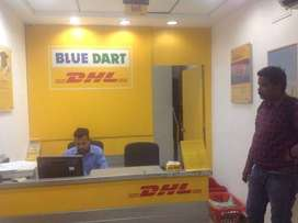 BlueDart process jobs in Delhi