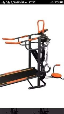 Promo murah treadmill manual 6 fungsi