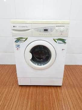 Washing machine front load LG free shipping 8kg