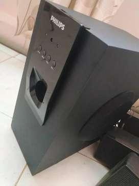 Philips 5.1 Home theatre speaker system