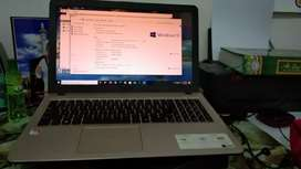 Laptop asus amd A9 x540B