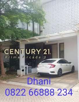 4068 SC - Di JUAL Rumah Discovery Sektor 9 Bintaro Jaya