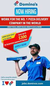Dominos process jobs- hiring for Delivery boys / Biker / Counter boys