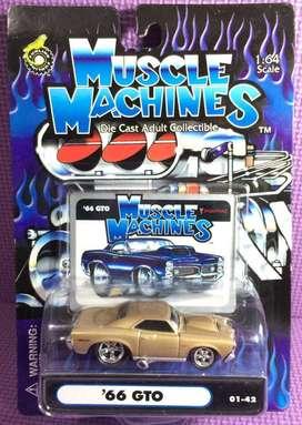Pontiac GTO '66 Funline Muscle Machines skala 64
