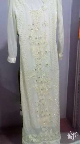 White maxi for wedding and party
