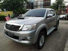 Toyota Hilux G 2.5 Vnt Double Cabin MT 4x4 Siap pakai