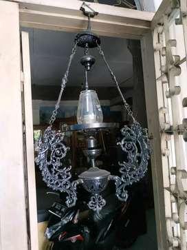 lampu gantung betawi antik lawas.