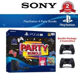Credit PS 4 1TB pro party bundle proses cepat dan mudah