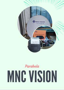 Antena  Parabola TV Digital Indonesia