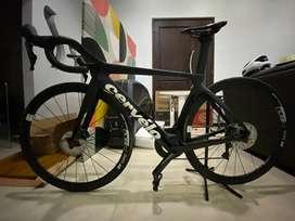 Sepeda Cervelo S5 2020 Hitam Ultegra 8020 Road Bike