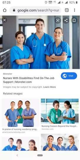 Bystander male nurse at EMC hospital kochi