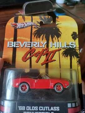 Hotwheels BEVERLY HILLS COP II '68 OLDS CUTLASS CONVERTIBLE