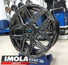 Pelek mobil terbaru ring 18 HSR KONGA R18 lubang 5x100 & 5x114,3 ready