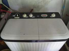 Haier 7.2kg semi automatic washing machine