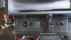 mesin Deep Fryer Donat profesional Alat Penggoreng Otomatis Tarakan