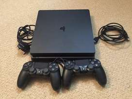 14Games+2 Controllers Sony PS 4 Slim Modal With Bill 8 Month old 8 Mon