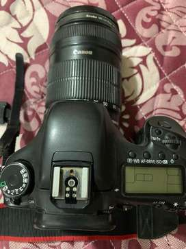 Canon 7D with 18mm-135mm