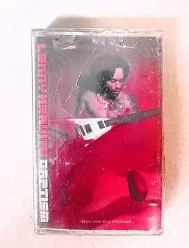 kaset pita original album LENNY KRAVITZ BAPTISM.   kondisi segel,