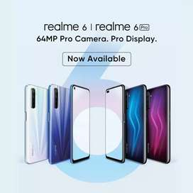NEW REALME 6/6 PRO BOX PACK OFFICIAL WARRANTY PTA APPROVED