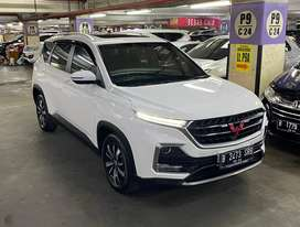 Wuling Almaz Exclusive Lux+ 7 seater 2019 low km 23rb asli