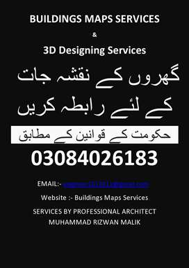 Professional House's Maps Services with All drawings
