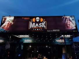 Mask fitness zone