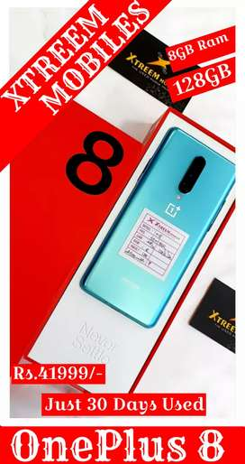 OnePlus 8..8/128..Just 30 Days Used..