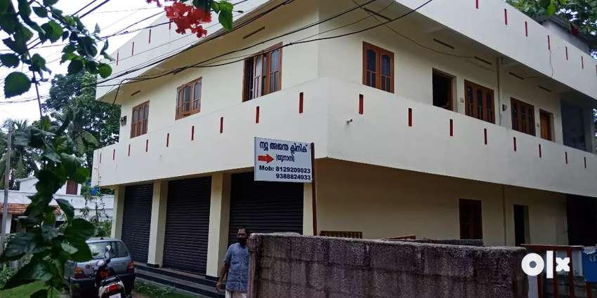 Kollam kottiyam junction 7 cent land 3000 sqrf commercial building 0