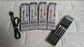 Kabel data micro USB fast charging